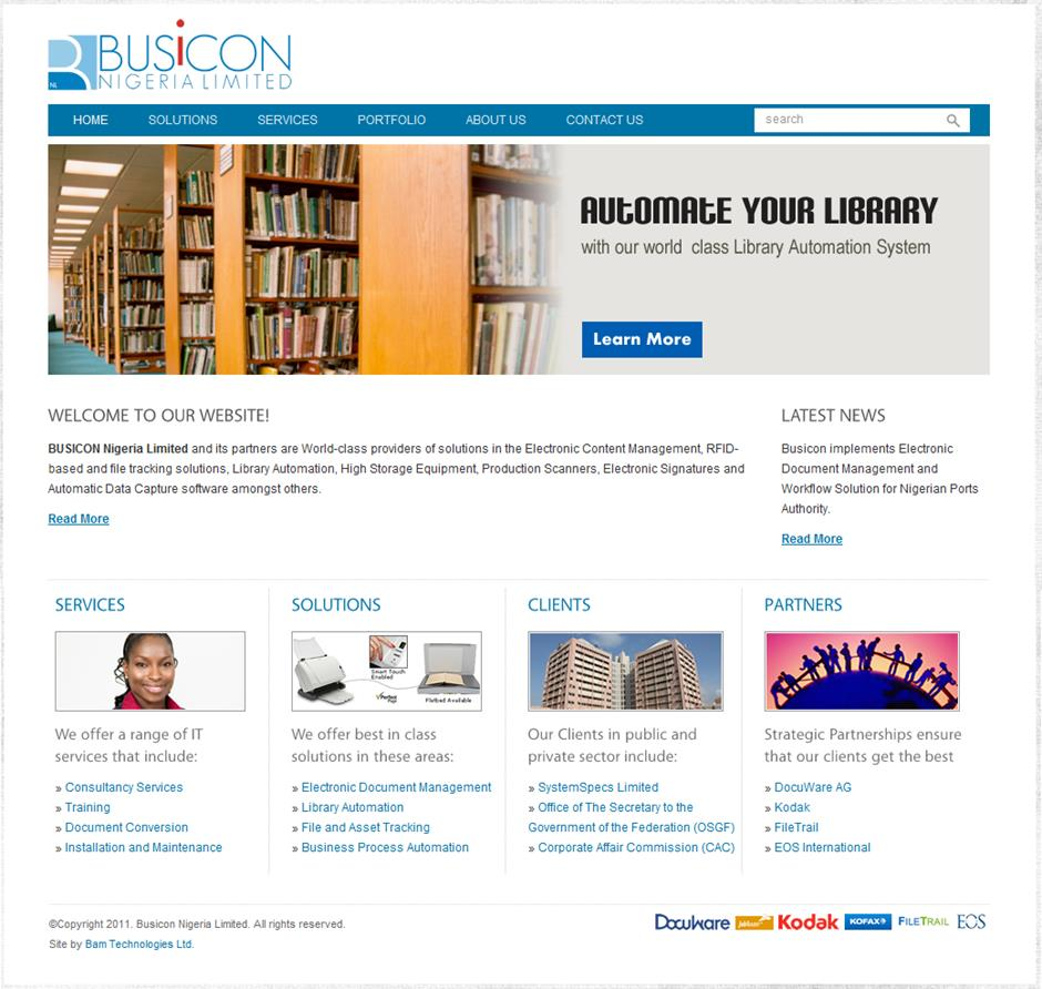 busicon website