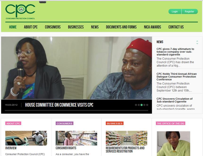 CPC Website